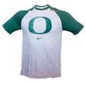 University of Oregon Nike Raglan Two Tone T-Shirt
