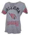 Arizona Cardinals Women's Team Captain Grey V-Neck