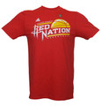 Houston Rockets Red Nation T-Shirt by adidas