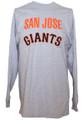 San Jose Giants Grey Long Sleeve Shirt
