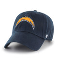 NFL San Diego Chargers '47 Brand Clean Up Slouch Relax Shield Adjustable Hat