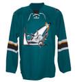 AHL San Jose Barracuda CCM Men's Premier Road Jersey - Teal