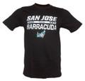 AHL San Jose Barracuda CCM Iced Over T-Shirt - Black