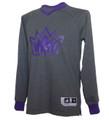 Men's Sacramento Kings adidas Christmas Day Long Sleeve Shooter T-Shirt - Gray