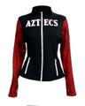 San Diego State University Women's Aztec Calendar Black Track Jacket