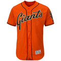 San Francisco Giants Authentic Alternate Orange Jersey by Majestic