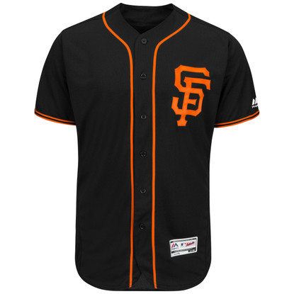 San Francisco Giants Authentic Alternate Black Jersey by Majestic