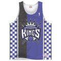 Sacramento Kings Shot Clock Mitchell & Ness Tank Top