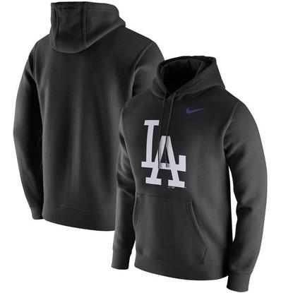 Los Angeles Dodgers Nike Club Hoodie in Black