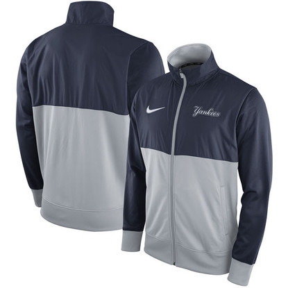 New York Yankees Nike Full-Zip Track Jacket in Blue