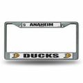 Anaheim Ducks Chrome License Plate Frame