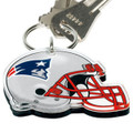 New England Patriots WinCraft High-Definition Helmet Logo Keychain