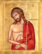 Icon of Christ the Bridegroom - 20th c. - (11S12)