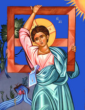 Icon of Christ as a Child - 20th c. (11P25)