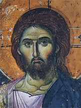 Icon of Christ the Pantocrator - 14th c. Panselinos - (11S03)