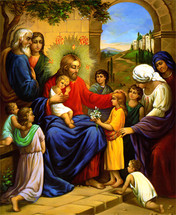 Suffer the Little Children Icon- (11P31)