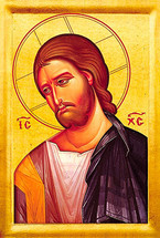 Icon of Christ - 20th c. - (11S00)