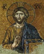 Icon of Christ the Pantocrator - 13th c. Hagia Sophia, Constantinople - (11J00)