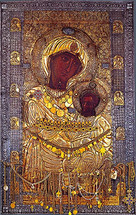 Icon of the Portaitissa (Gatekeeper) - Iveron Monastery - (12G47)