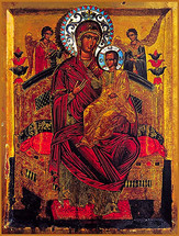 Icon of the Panagia Pantanassa - (12H09)