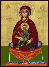 Icon of the Life-Giving Spring - 20th c. (12I05)