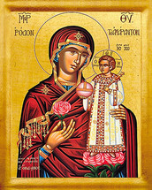 Icon of the Unfading Rose - 20th c. - (12G35)