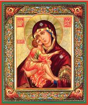 Icon of the Precious Diadem - 20th c. Tikhomirov - (12G12)