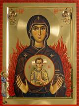 Icon of the Theotokos of the Burning Bush - Mount Athos - (12G27)