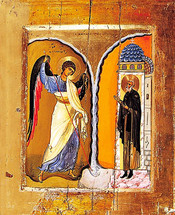 Icon of the Archangel Michael (Miracle at Chonai) - Mt. Sinai - (1MI19)