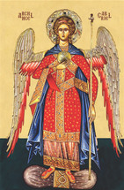 "Icon of the Archangel Gabriel - ""Chief Commander"" - (1GA12)"