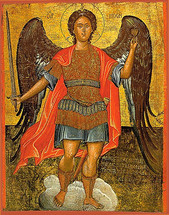 Icon of the Archangel Michael - 16th c. Cretan - (1MI10)