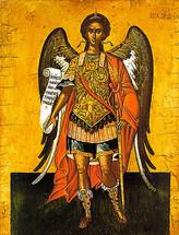 Icon of the Archangel Michael - 16th c. Cretan - (1MI11)