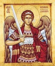 Icon of the Archangel Michael - Thassos - (1MI14)