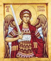 Icon of the Archangel Michael - Thassos - (1MI14)