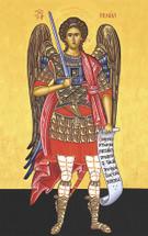 "Icon of the Archangel Michael - ""Chief Commander"" - (1MI20)"