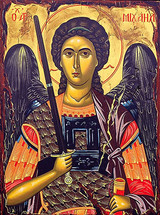Icon of the Archangel Michael - 20th c. (1MI15)