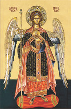 "Icon of the Archangel Michael - ""Chief Commander"" - (1MI18)"