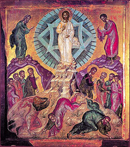 Icon of the Transfiguration - 16th c. Holy Mt. Athos - (11D04)