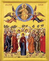 Ascension  Icon- 20th c. - (11M01)