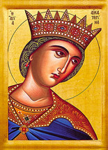 Icon of St. Catherine - 20th c. - (1CA12)
