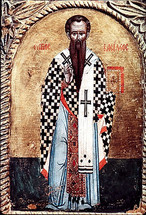 Icon of St. Basil the Great - (1BA12)