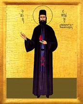 Icon of St. Ephraim of Nea Marki - 20th c. - (1EP20)