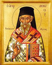 Icon of St. Dionysios of Zakynthos - 20th c. - (1DI30)