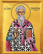 Icon of St. Dionysios the Areopagite - 20th c. - (1DI10)