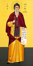 Icon of St. Gerasimos of Kephalonia - 20th c. St. Anthony's Monastery - (1GE55)