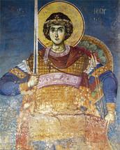 Icon of St. George - 14th c. Panselinos - (1GE17)