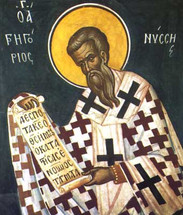Icon of St. Gregory of Nyssa - 16th c. Mt. Athos - (1GN11)
