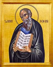 Icon of the Apostle John the Theologian - English - (1JT14)