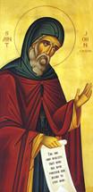 Icon of St. John Cassian - 20th c. - (1JC12)