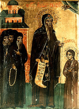 Icon of St. John of Rila - 18th c. Bulgarian - (1JR11)
